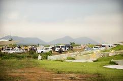 Φεστιβάλ Qingming στο νεκροταφείο Sritasala σε Ratchaburi, Ταϊλάνδη Στοκ Εικόνες