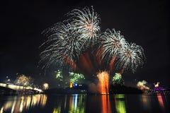 Φεστιβάλ Riverfire στο Μπρίσμπαν - 2014 Στοκ Φωτογραφίες