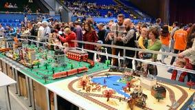Φεστιβάλ Robotica ρομπότ στο Κίεβο, Ουκρανία, φιλμ μικρού μήκους