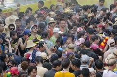 Φεστιβάλ Songkran - Chiang Mai Στοκ Εικόνες