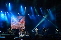 Φεστιβάλ Topfest 2015, Piestany, Σλοβακία μουσικής Στοκ Εικόνες