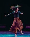Φεύγω-σύγχρονος χορός Στοκ Εικόνες