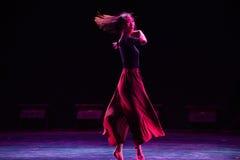 Φεύγω-σύγχρονος χορός Στοκ φωτογραφία με δικαίωμα ελεύθερης χρήσης