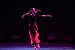Φεύγω-σύγχρονος χορός Στοκ Φωτογραφίες