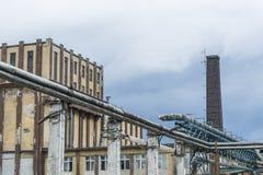 Φθαρμένη βιομηχανία Στοκ Εικόνες