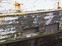Φθαρμένο αλιευτικό σκάφος Στοκ Εικόνα