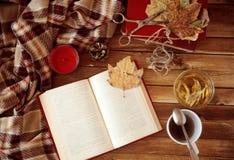 φθινοπωρινή ανάγνωση Στοκ εικόνα με δικαίωμα ελεύθερης χρήσης