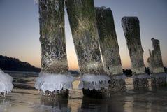 φθινοπωρινή δύση ήλιων Στοκ φωτογραφίες με δικαίωμα ελεύθερης χρήσης