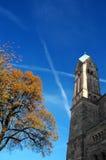φθινοπωρινός ουρανός Στοκ εικόνες με δικαίωμα ελεύθερης χρήσης