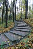 Φθινοπωρινός δρόμος στοκ εικόνες