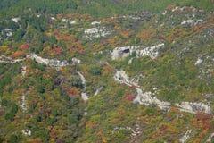 Φθινοπωρινό τοπίο βουνών Στοκ φωτογραφία με δικαίωμα ελεύθερης χρήσης