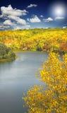 φθινοπωρινό τοπίο Στοκ Φωτογραφίες