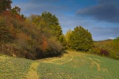 φθινοπωρινό τοπίο Στοκ φωτογραφία με δικαίωμα ελεύθερης χρήσης