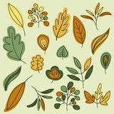 φθινοπώρου ανασκόπησης το αναδρομικά φωτισμένο χρυσό φύλλο χρωμάτων κλάδων φωτεινό αφήνει στο σφένδαμνο το πορτοκαλί δέντρο ήλιων Διανυσματική απεικόνιση