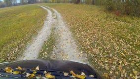 Φθινόπωρο αγροτικό από το δρόμο φιλμ μικρού μήκους