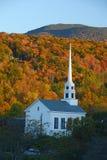 Φθινόπωρο εκκλησιών Stowe Στοκ Φωτογραφία