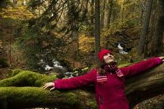 φθινόπωρο ευτυχές στοκ εικόνες με δικαίωμα ελεύθερης χρήσης