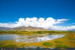 φθινόπωρο Θιβέτ Στοκ Φωτογραφίες