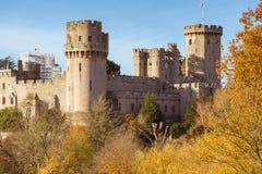 Φθινόπωρο κάστρων Warwick στοκ φωτογραφίες με δικαίωμα ελεύθερης χρήσης