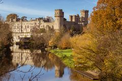 Φθινόπωρο κάστρων Warwick στοκ εικόνες με δικαίωμα ελεύθερης χρήσης