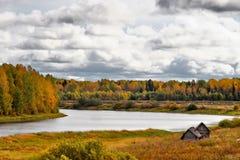 Φθινόπωρο κινητήριο Στοκ Φωτογραφίες