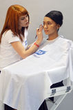 Φθινόπωρο Μόσχα ΧΧΙ Intercharm η διεθνής αρωματοποιία και η έκθεση καλλυντικών κατά τη διάρκεια του μάγου παρουσιάζουν κύριο καλλ Στοκ Φωτογραφία