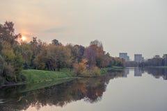 φθινόπωρο Μόσχα Στοκ Εικόνες