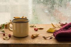 Φθινόπωρο ποτό ζεστό Στοκ Φωτογραφίες