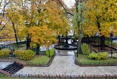 Φθινόπωρο σε Kyiv, Ουκρανία Στοκ εικόνες με δικαίωμα ελεύθερης χρήσης