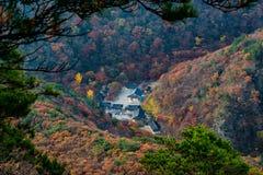 Φθινόπωρο σε Naejangsan Νότια Κορέα Στοκ Φωτογραφία