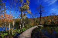 Φθινόπωρο σε Plitvice Στοκ εικόνες με δικαίωμα ελεύθερης χρήσης