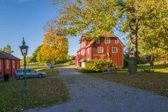 φθινόπωρο Σουηδία Στοκ Φωτογραφίες