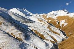 Φθινόπωρο στα βουνά της Ασίας Στοκ φωτογραφίες με δικαίωμα ελεύθερης χρήσης