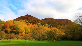 Φθινόπωρο στα βουνά στοκ φωτογραφία με δικαίωμα ελεύθερης χρήσης