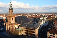 Φθινόπωρο στα σκουλήκια/Γερμανία Στοκ Φωτογραφία