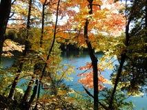 Φθινόπωρο στη λίμνη Στοκ Φωτογραφία