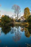 Φθινόπωρο στη Αγία Πετρούπολη Γυρισμένη κόσμος άνω πλευρά - κάτω Στοκ Εικόνα