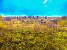 Φθινόπωρο στη Ρωσία Στοκ Εικόνες