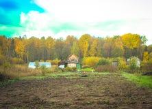 Φθινόπωρο στη Ρωσία! Στοκ Εικόνες