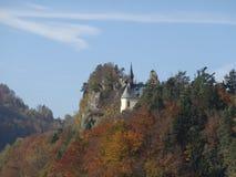 Φθινόπωρο στο Βοημίας παράδεισο Στοκ φωτογραφία με δικαίωμα ελεύθερης χρήσης