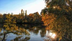 Φθινόπωρο στο Βουκουρέστι Στοκ Εικόνα