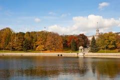 Φθινόπωρο στο Μινσκ, Λευκορωσία Στοκ Εικόνες