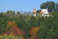 Φθινόπωρο στο νότο της Σερβίας 1 στοκ φωτογραφία με δικαίωμα ελεύθερης χρήσης