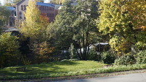 Φθινόπωρο στο Όσλο Στοκ φωτογραφίες με δικαίωμα ελεύθερης χρήσης