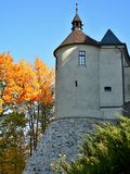 Φθινόπωρο στο Castle στοκ εικόνες