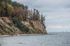 Φθινόπωρο στο Gdynia Στοκ φωτογραφία με δικαίωμα ελεύθερης χρήσης