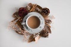 Φθινόπωρο του καφέ στοκ φωτογραφία