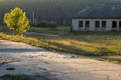 Φθινόπωρο, φύση, οικοδόμηση στοκ φωτογραφίες με δικαίωμα ελεύθερης χρήσης