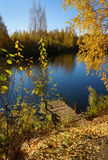 Φθινόπωρο, όμορφη ημέρα στην εποχή πτώσης στοκ εικόνες με δικαίωμα ελεύθερης χρήσης