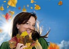 φθινόπωρο 4 χαρούμενο Στοκ εικόνες με δικαίωμα ελεύθερης χρήσης